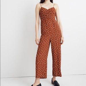 NWT Madewell polka dot jumpsuit size 4